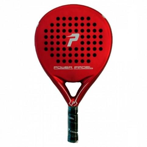 Power Padel -Raquete de lâmina de energia vermelho fosco