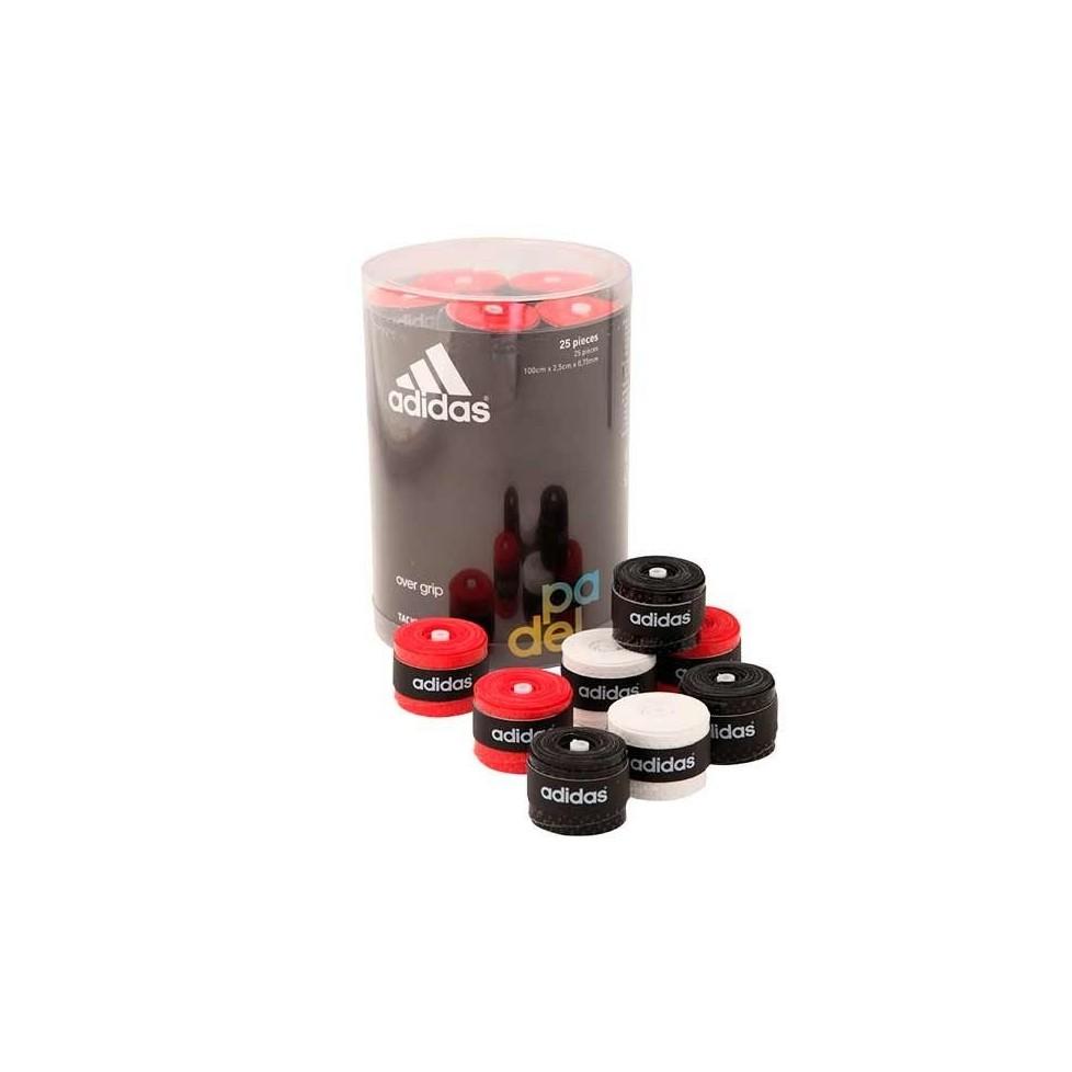 Adidas -Tambor Overgrips 25 unidades colores