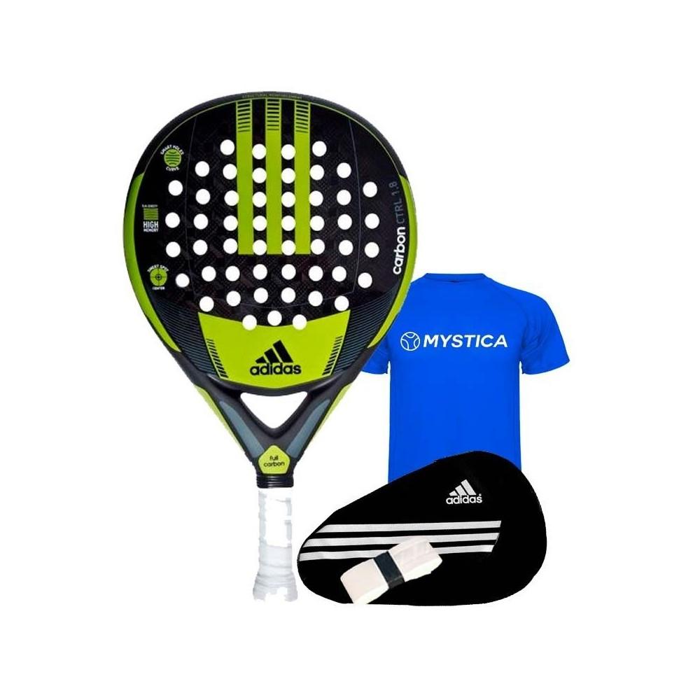 lago atención Hito  Shovel Adidas Carbon Control 1.8 2018 ✅ Paddle rackets 2020 ✅