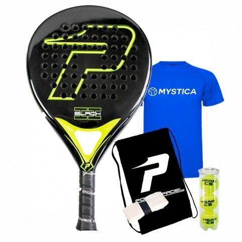 Power Padel -Pala Power paddle 3 Black 2018