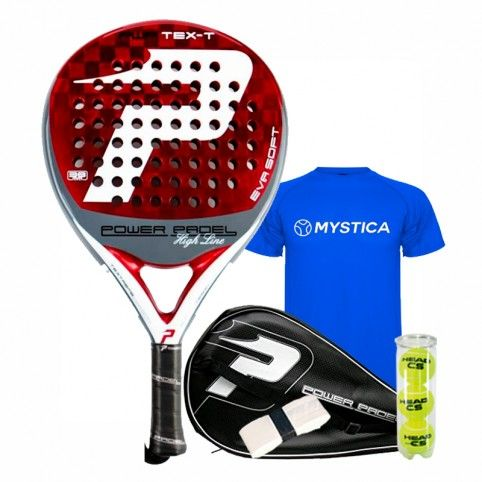 Power Padel -Power Padel Text-T Soft