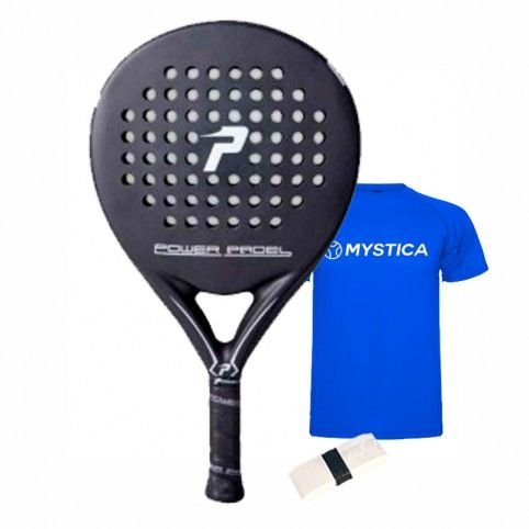 Power Padel -Power paddle Black matte