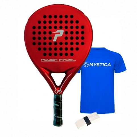 Power Padel -Power blade paddle Red matte