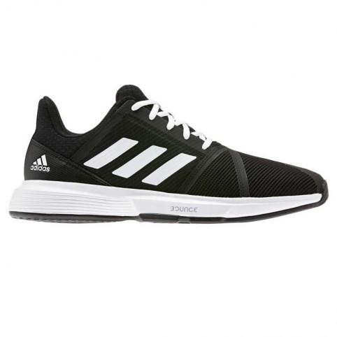-Adidas Courtjam Bounce M Scarpe nero