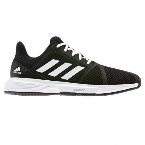 -Zapatillas Adidas Courtjam Bounce M negro