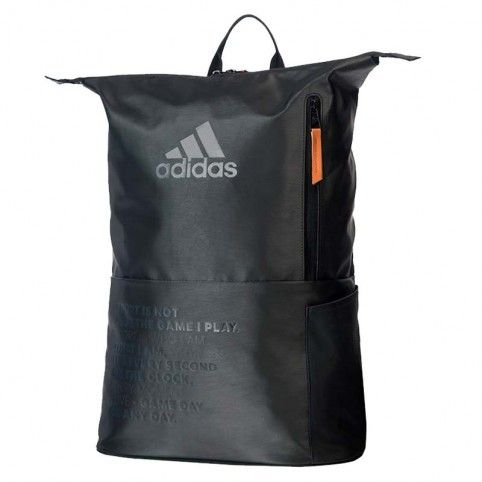 Adidas -Mochila Adidas Multigame 2.0 Negro/Amari
