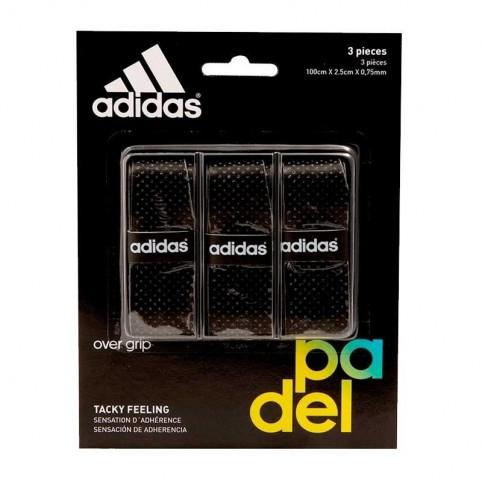 Adidas -Blister overgrips Adidas 3 units Black