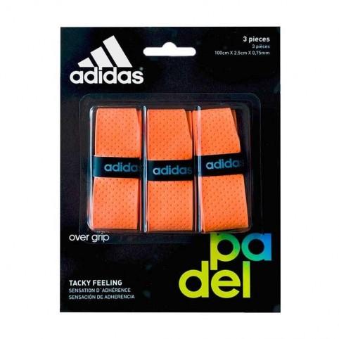 Adidas -Blister overgrips Adidas 3 uds Naranja