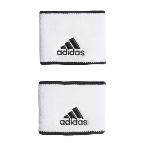 Adidas -Muñequera Adidas S Blanco