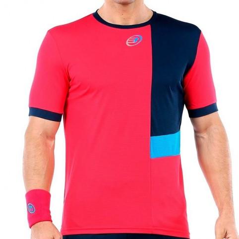 Bullpadel -T-shirt rose Bullpadel Urpa 2020