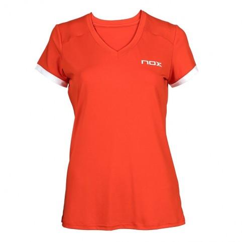 Nox -Camiseta Nox Team Mujer 2021 Rojo