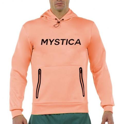 MYSTICA -Mystica Felpa uomo corallo