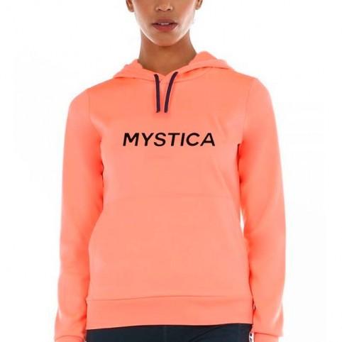 MYSTICA -Mystica Felpa donna corallo