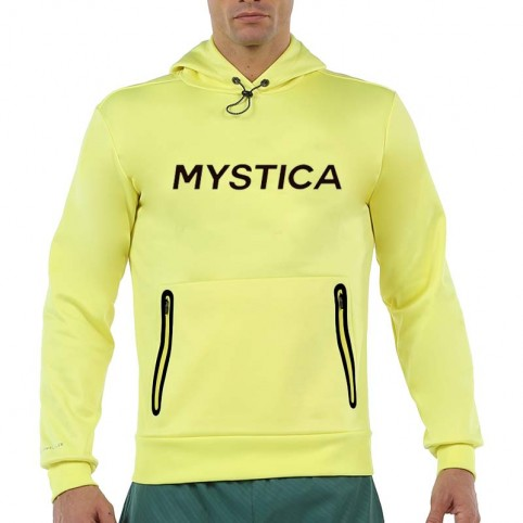 MYSTICA -Mystica Yellow Man Sweatshirt