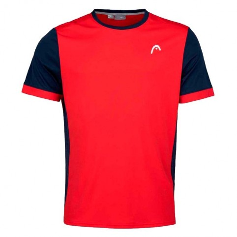 Head -Camiseta Head Davies 2021 rojo