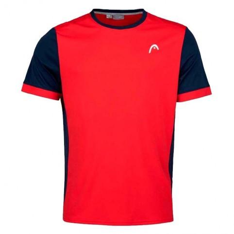 Head -T-shirt Davies 2021 testa rossa