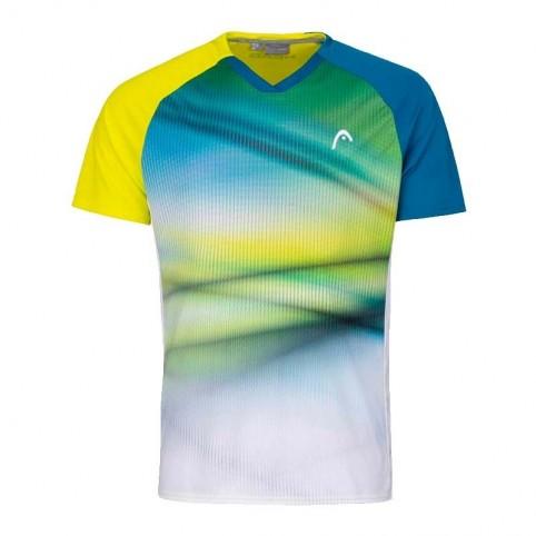 Head -T-shirt yellow head striker 2021
