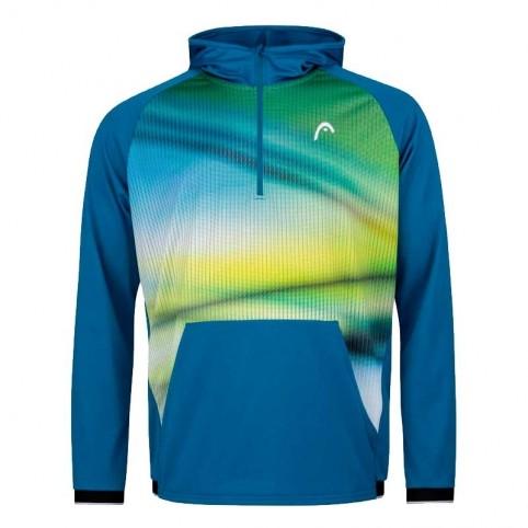 Head -Head Power 2021 Blue Sweatshirt