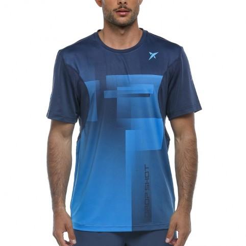 Drop Shot -T-shirt blu Drop Shot Brais 2021