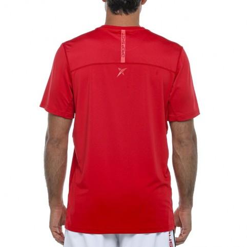 Drop Shot -T-shirt rossa Drop Shot Drac 2021
