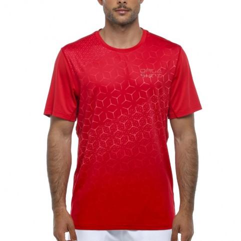 Drop Shot -Camiseta Drop Shot Drac Print 2021 rojo