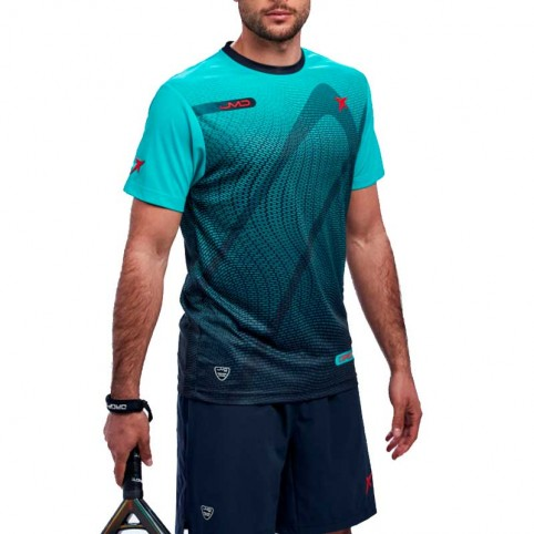 Drop Shot -T-shirt verde Drop Shot Mylar 2021
