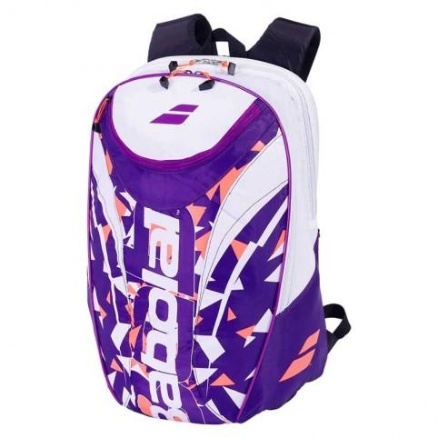 Babolat -Babolat BackPack Club 2020 White/Purple Backpack