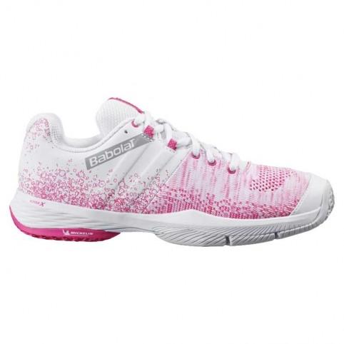-Baskets roses Babolat Sensa SS 2021