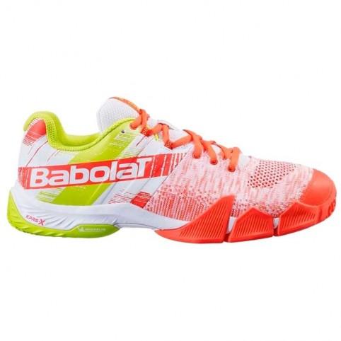 -Zapatillas Babolat Movea SS 2021 rojo
