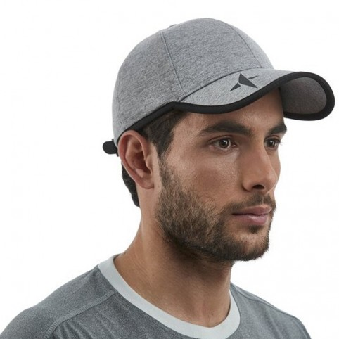 Drop Shot -Gorra Drop Shot Tech Melagne 2021 gris