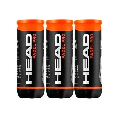 -Confezione da 3 lattine di Head Padel Pro