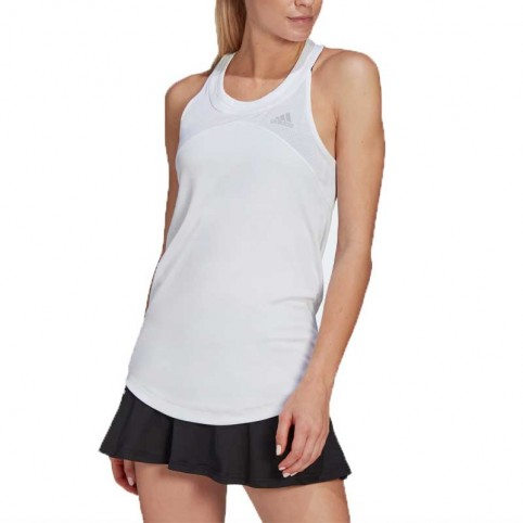 -Camiseta Adidas Club Tenis Tank 2021 Blanco
