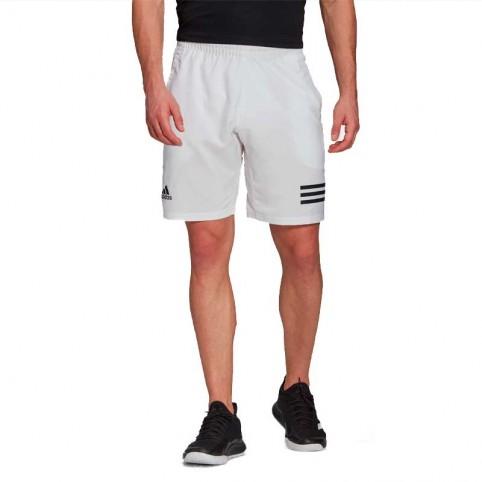 -Short Adidas Club 3STR Crew Bianco 2021