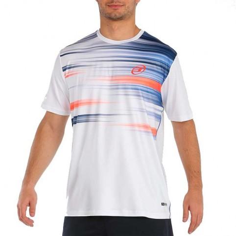 Bullpadel -Camiseta Bullpadel Milan 2021 Blanco