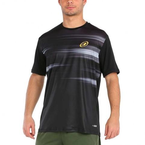 Bullpadel -Camiseta Bullpadel Milan 2021 Negro