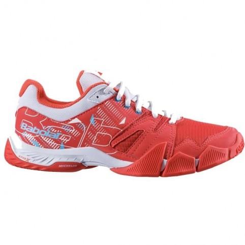 Babolat -Babolat Shoes Pulse W Rouge 2020