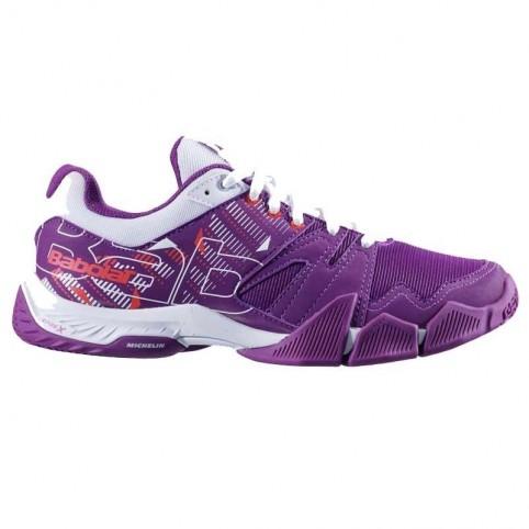 Babolat -Babolat Shoes Pulsa W Morado 2020