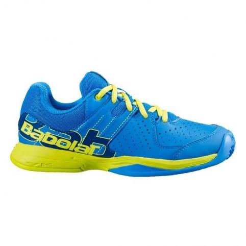 Zapatillas Babolat Pulsa JR Azul