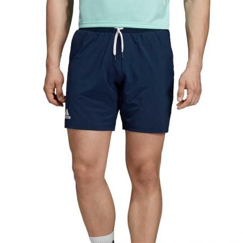 Adidas -Adidas Club SW 7 Short Blu Navy