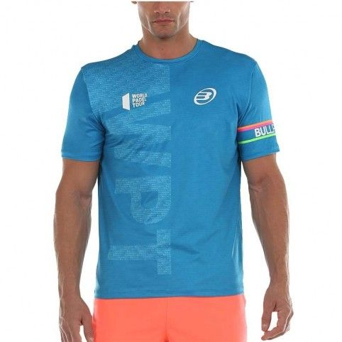 Bullpadel -Camiseta Bullpadel Salbur 2020 azul