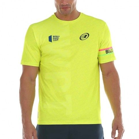 Bullpadel -Camiseta Bullpadel Salbur 2020 amarillo