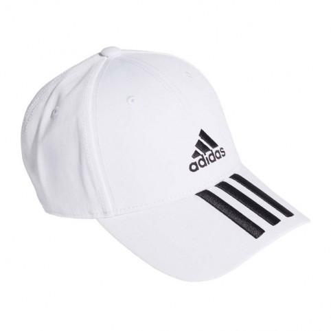 -Adidas Bball 3S 2020 cappellino bianco