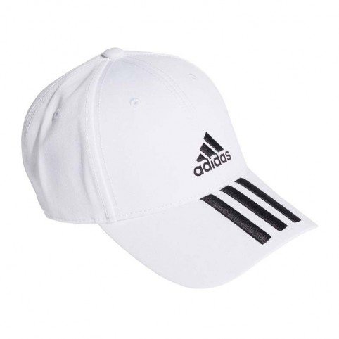 -Gorra Adidas Bball 3S 2020 blanco