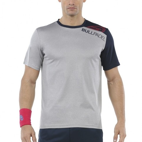 Bullpadel -Camiseta Bullpadel Unut 2020 gris
