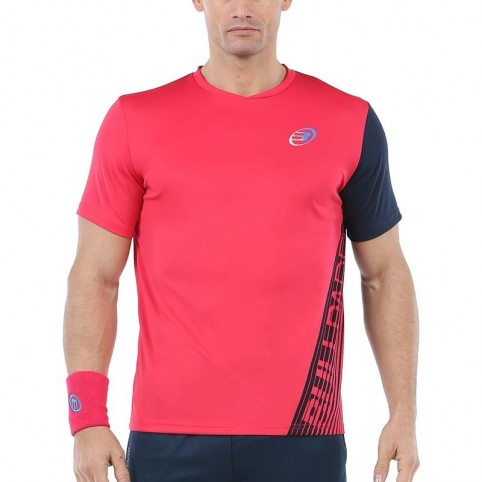 Bullpadel -Camiseta Bullpadel Ugur 2020 rosa