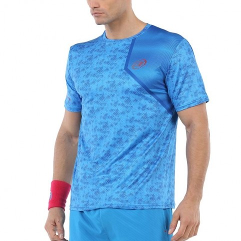 Bullpadel -Camiseta Bullpadel Uriarte 2020 azul