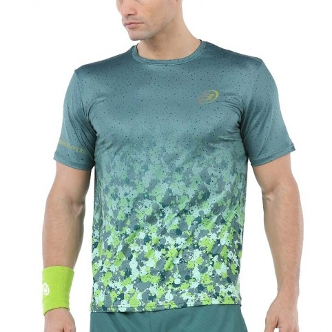 Bullpadel -Camiseta Bullpadel Urano 2020 verde