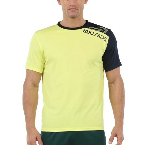 Bullpadel -Camiseta Bullpadel Unut 2020 amarillo