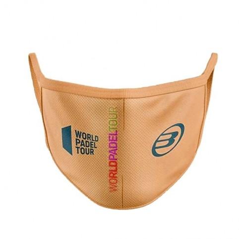 Bullpadel -Máscara laranja Bullpadel WPT 2020