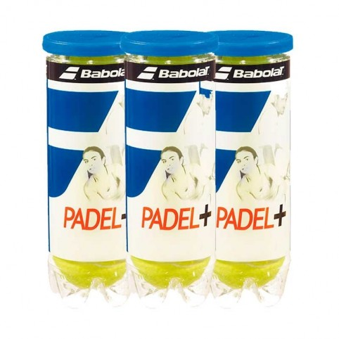 Babolat -Tripack Babolat Padel + X3